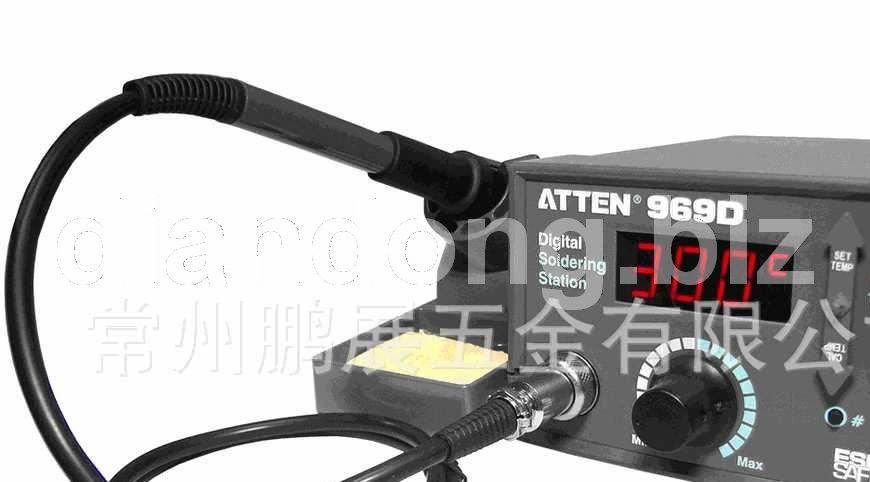安泰信 AT969D数显无铅防静电恒温控温高级电焊台