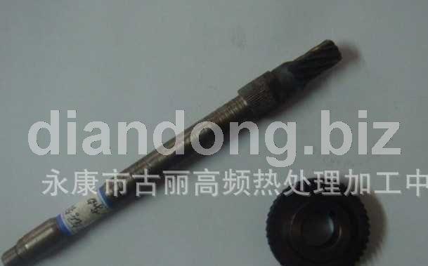 供应091锯铝机齿轮和转子轴